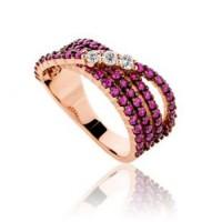 Δαχτυλιδια απο Ροζ Χρυσο
