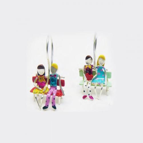 Σκουλαρίκια από Ορείχαλκο Σκουλαρίκια απο Ορείχαλκο