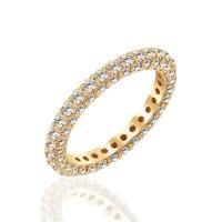 Ολόβερο δαχτυλίδι 14Κ λευκά με ζιργκόν | Δαχτυλίδια από Χρυσό | Κόσμημα - nmarakakis.gr