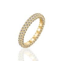 Ολόβερο δαχτυλίδι 14Κ χρυσό με ζιργκόν | Δαχτυλίδια από Χρυσό | Κόσμημα - nmarakakis.gr