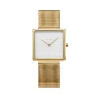 Obacu Kvadrat Gold Stainless Steel Bracelet V236LXGIMG Γυναικείο