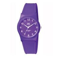 Q&Q Rubber Strap Purple VP34J068Y Q&Q